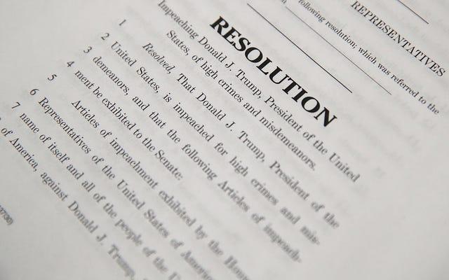 हाउस डेमोक्रेट्स ने डोनाल्ड ट्रम्प के खिलाफ महाभियोग के 5 लेख पेश किए