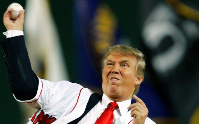 親愛なるトランプ大統領:ナッツゲームで始球式を投げることはこの国を癒すでしょう