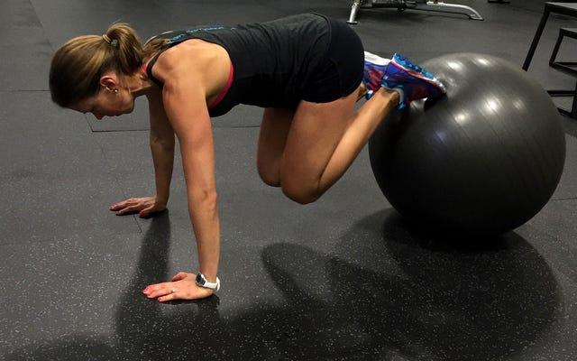 Prova questi esercizi per il core della palla di stabilità