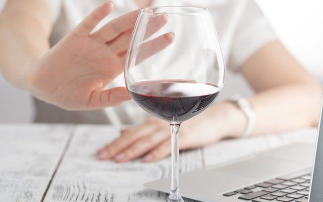 Las ventas de vino alcanzaron el mínimo de 25 años porque estamos ocupados bebiendo White Claw