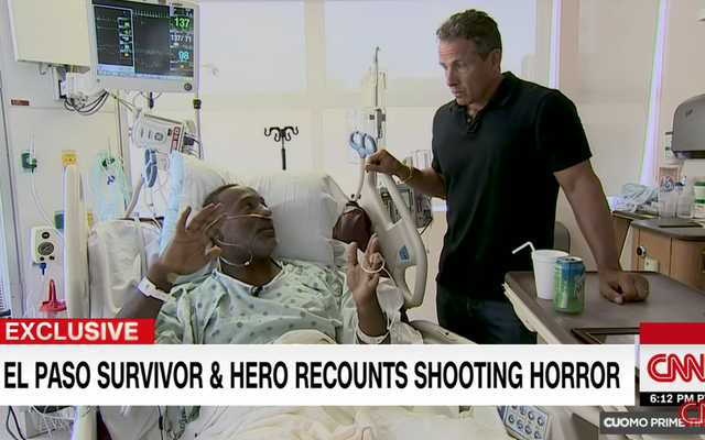 エルパソ警察は詐欺の銃乱射事件の英雄を非難します:「彼が言ったことは真実ではありません」