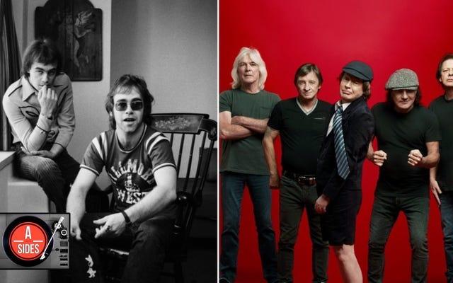 5 รุ่นใหม่ที่เราชื่นชอบ: Elton John เปิดห้องนิรภัย AC / DC กลับมาจากความตายและอีกมากมาย