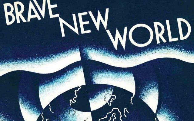 El mundo feliz de Aldous Huxley finalmente está obteniendo una adaptación televisiva moderna