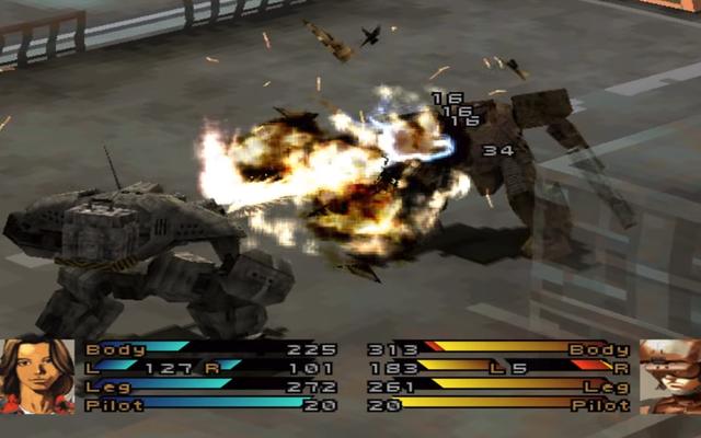Robotik Yıkımı Etkileyen PS1 Strateji Oyunu