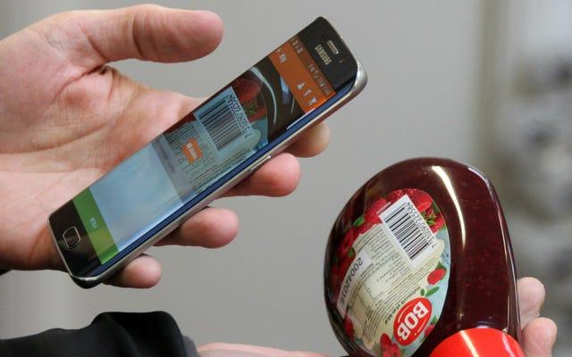 スウェーデンには、人間のキャッシャーのないスマートフォンを搭載した店があります