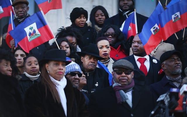 Ссылаясь на собственные расистские слова Трампа, NAACP LDF подает иск против национальной безопасности за отмену защиты гаитянских иммигрантов