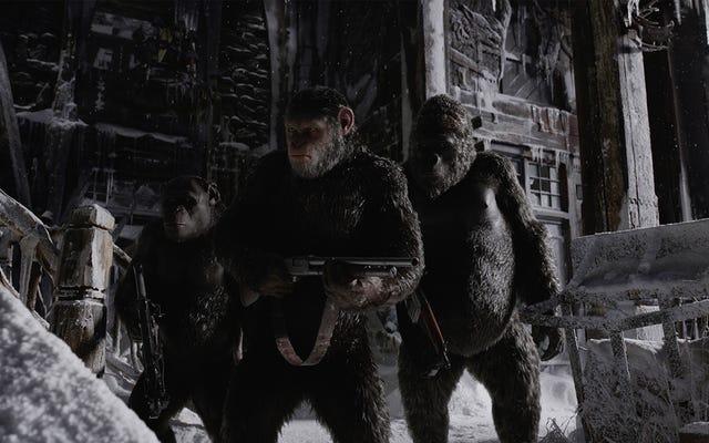 猿の惑星:聖戦は深刻な賞のプッシュを取得します