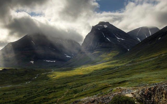 スウェーデンで最も高いピークは、気候変動のおかげでそのタイトルを失いました