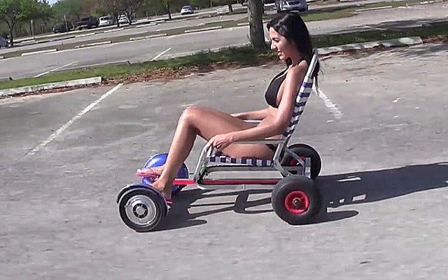 Florida descubrió cómo hacer hoverboard mientras está sentado