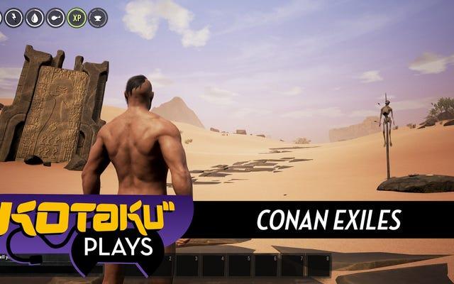 Игра с созданием персонажа Conan Exiles NSFW