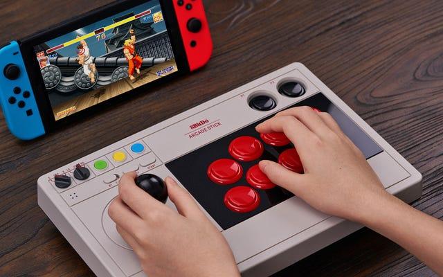 8BitDo Arcade Stick można dostosować aż do joysticka i przycisków