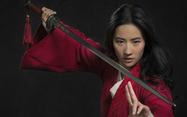 Mulan est arrivé dans ce tout premier regard sur le film d'action en direct de Disney