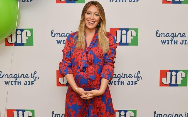 Hilary Duff è deliziata dal suo frullato di placenta