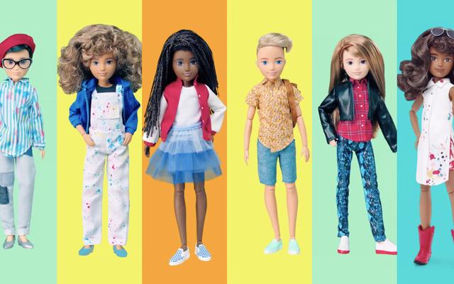Le nuove bambole neutre di genere di Mattel sono per tutti