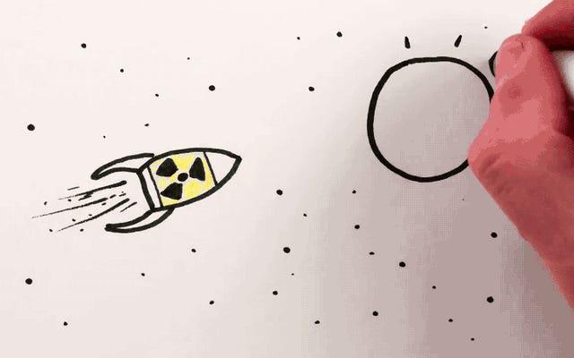 核廃棄物を太陽に投げてみませんか