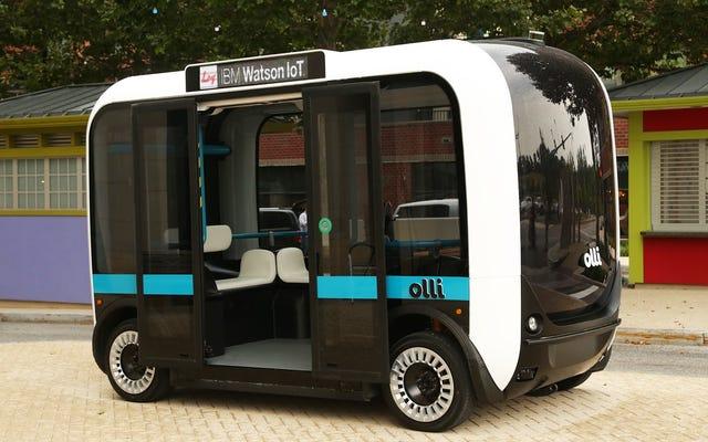 अगर आपको अपनी कार चलाना Google का आइडिया पसंद नहीं है, तो शायद आप IBM पर भरोसा करेंगे?