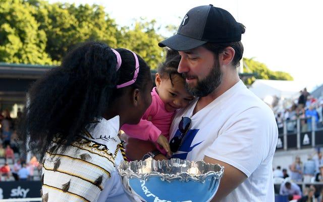 नहीं, सेरेना विलियम्स ने रेडिट को छोड़ने के लिए एलेक्सिस ओहानियन को राजी नहीं किया- लेकिन बेटी एलेक्सिस ओलंपिया ने मदद की