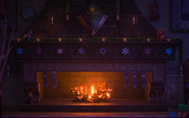 Ponga una advertencia de activación en el registro de Navidad de Arendelle de Frozen