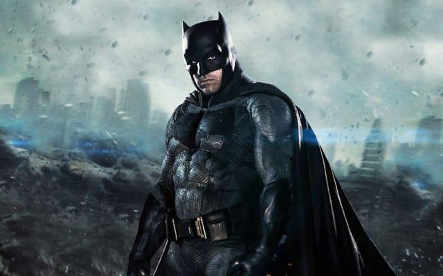 Le nouveau réalisateur de Batman réécrira complètement le scénario de Ben Affleck