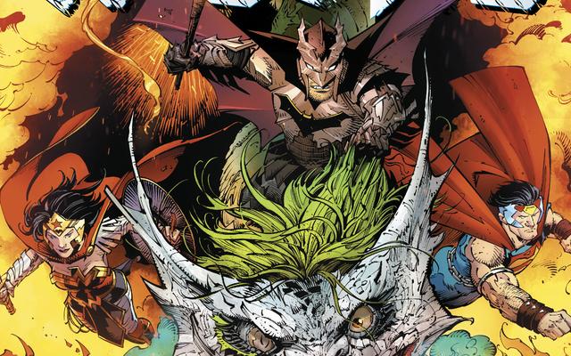 Dark Nights: Metal устанавливает новый золотой стандарт для кроссоверов с супергероями
