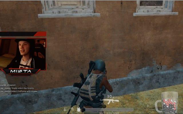 Pemain Bersenang-senang Dengan Vaulting Di Server Uji Battlegrounds