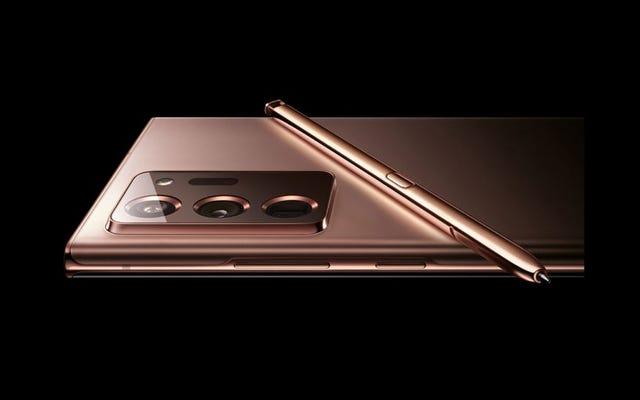 Si ces photos qui fuient sont réelles, le Galaxy Note 20 aura l'air génial en cuivre