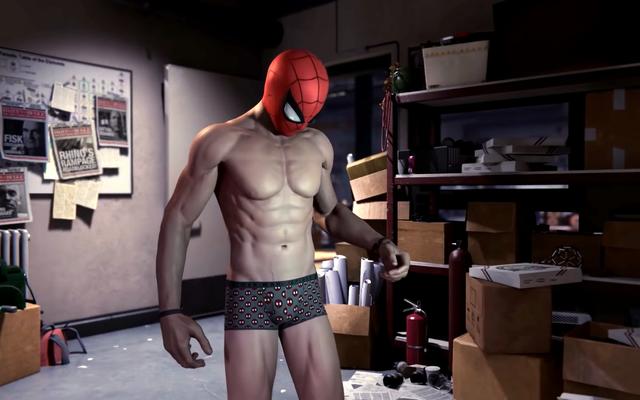 ビデオゲームでスパイダーマンの乳首を彫刻した唯一のアーティストは、彼らが「暑い」ことを望んでいましたが、気を散らすことはありませんでした