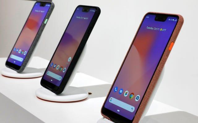 Google đã bán được ít pixel hơn vào đầu năm 2019 so với năm trước, mặc dù đã ra mắt dòng Pixel 3