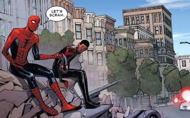W ostatnim wydaniu Spider-Men II nie ma odpowiedzi na temat morale Milesa, tylko więcej pytań