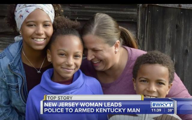 人種差別主義者の男性についてのニュージャージーママの911コールは、ケンタッキーでの学校の銃撃を防ぎます