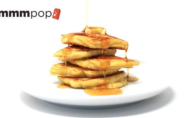 El refresco de lima-limón convierte los panqueques en pastelitos esponjosos para el desayuno