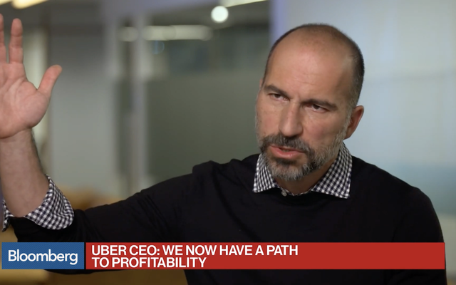 UberのCEOとのこのインタビューは、2029年のタイムカプセルに入れる必要があります