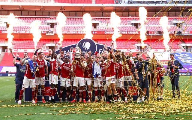 アーセナルのFAカップは何か新しいものの前触れを勝ち取るのですか、それとも同じですか?