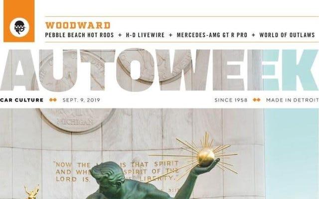 オートウィークがハーストによって「運営」され、印刷雑誌を終了