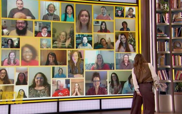 Drew Barrymore uczy się potężnej lekcji o pokonywaniu Wedgies