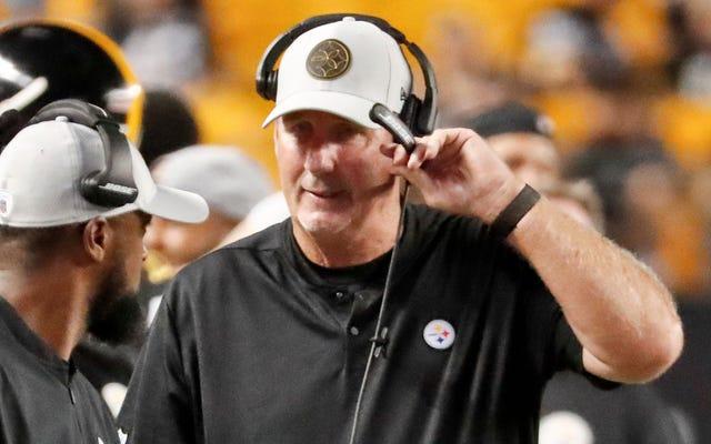 """Steelers Koordinatörü, Savunmasının Üç Aydır Yaralı Rezervinde Olan Bir Adamı Kapsayan """"Bir Sorun"""" Olacağını Söyledi"""