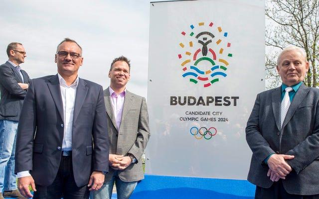 Budapest si ritirerà dalla gara per ospitare le Olimpiadi del 2024
