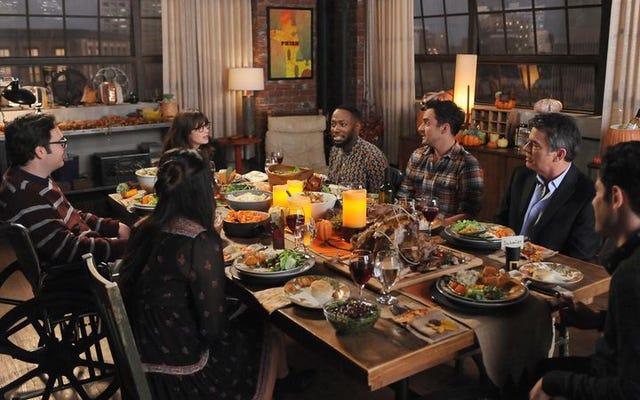 El episodio de Acción de Gracias de New Girl es imperfecto pero lleno de entusiasmo