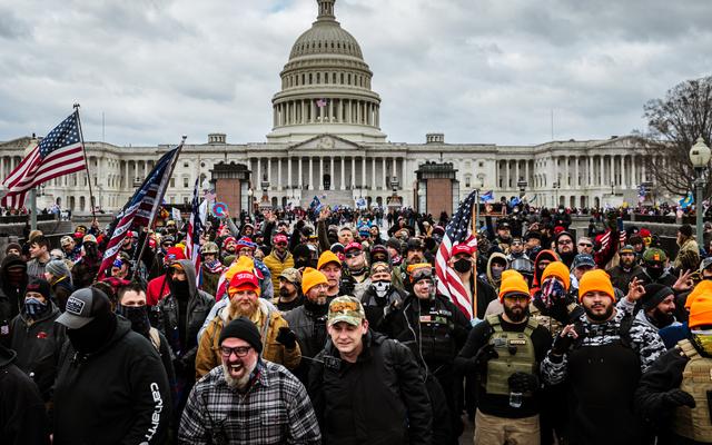 Sorpresa, sorpresa: i poliziotti fuori servizio da tutto il paese erano a Washington durante il tentativo di colpo di stato del Campidoglio
