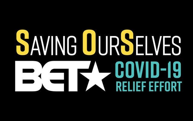 BET Networks s'est associé à Centraide et à la NAACP pour les efforts de secours contre le COVID-19