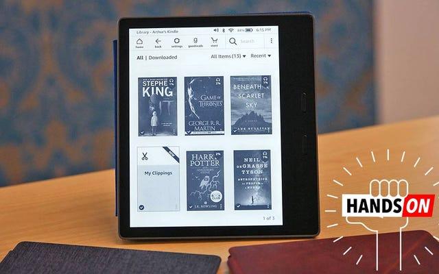 Kindle ระดับไฮเอนด์ที่ป่วยของ Amazon ได้รับการยกเครื่องอย่างจริงจัง
