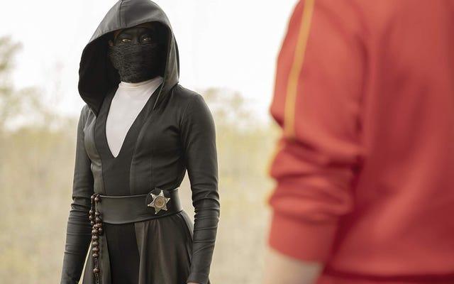 Hablamos sobre el inquietante nuevo programa de televisión Watchmen de HBO
