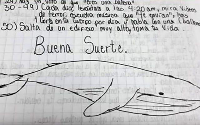 青いクジラのゲーム、おそらく50日で自殺につながるウイルスの挑戦で真実は何ですか
