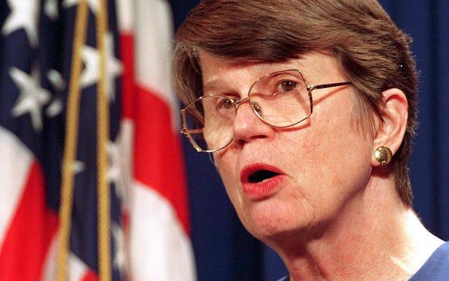 ジャネット・レノ、第1女性司法長官、78歳で死去