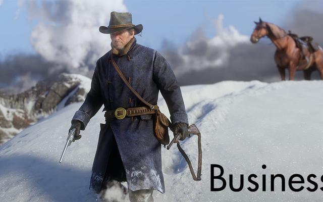 今週のビジネス:レッドデッドは弾丸で2番目です