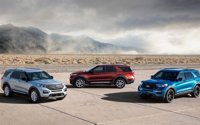 Le Ford Explorer ST et hybride 2020 sont là pour apporter de la joie à votre VUS