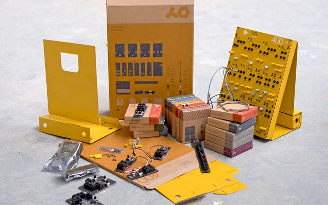 任天堂のダンボールラボおもちゃのようにこれらのアナログシンセサイザーを構築できます