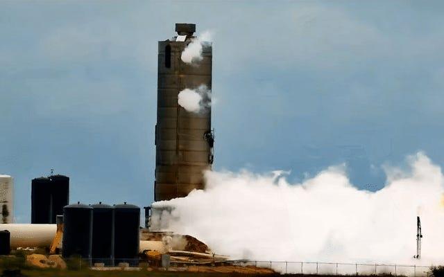 Le prototype de vaisseau spatial de SpaceX explose lors du quatrième test échoué