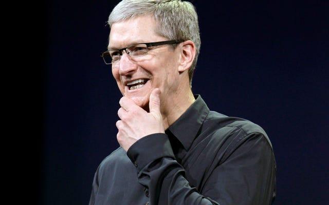 確かに、Appleは独自のルールを曲げてサービスを宣伝する用意があるようだ
