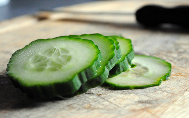 Salatalık Kabukları Şaşırtıcı Derecede Harika Bir Sandviç Sürmesi Yapar